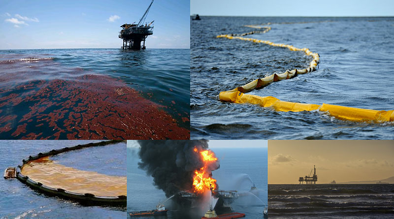 Oil pollution (spill) detection stabilized thermal marine cameras. Night vision and navigation systems. Strixmarine.